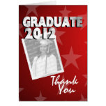 All Star Graduate Thank You Card
