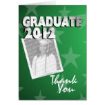All Star Graduate Thank You Stationery Note Card