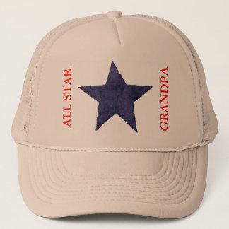 ALL STAR GRANDPA BASEBALL CAP TEMPLATE