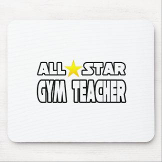 All Star Gym Teacher Mouse Pad