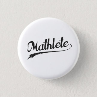 All Star Mathlete Math Athlete 1 Inch Round Button