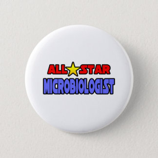 All Star Microbiologist 2 Inch Round Button