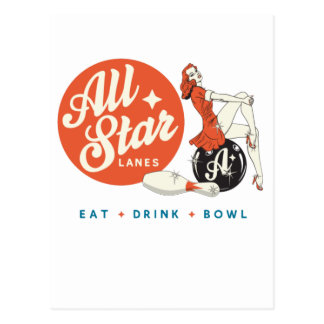 All Star Postcard