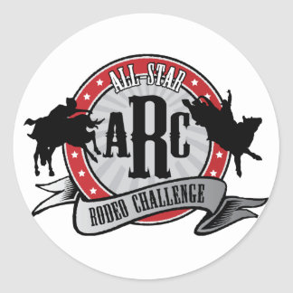 All Star Rodeo Classic Round Sticker