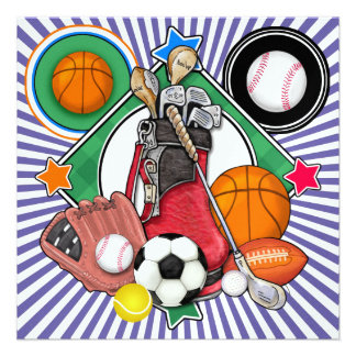 All Star Sports Banquet Event Invite