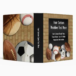 All-Star Sports Theme Binder
