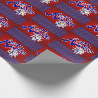 All Star Sporty Baseball Theme Wrapping Paper