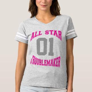 All Star Troublemaker Custom T-shirt