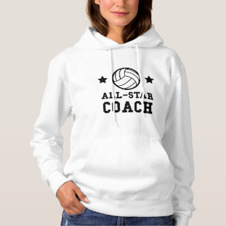All Star Volleyball Coach Hoodie