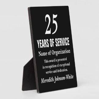 All-Star Volunteer Service Recognition Award Display Plaque