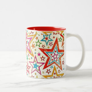 All Stars Two-Tone Coffee Mug