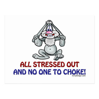 All Stressed Out Postcard