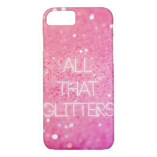 """All That Glitters"" iPhone 7 case"