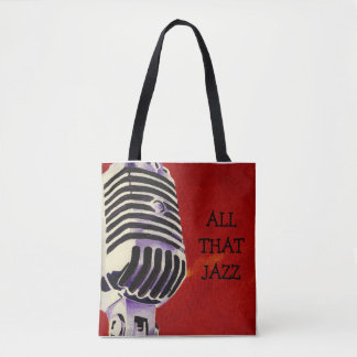 All That Jazz Tote Bage