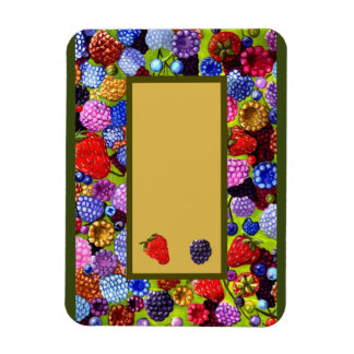 All The Berries Border magnet