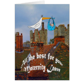 All the best for your Maternity Leave Card