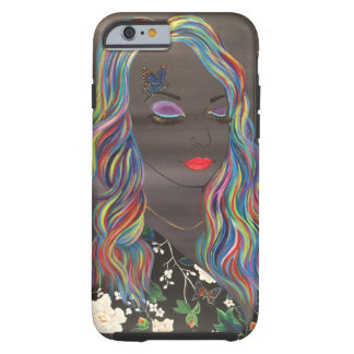 All the colors mix to gray tough iPhone 6 case