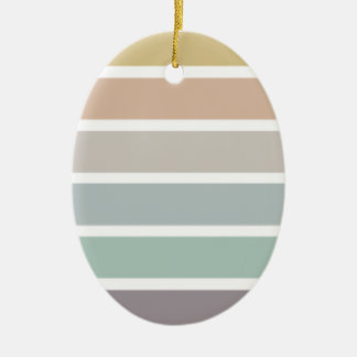 All the Colors of the Wind Ceramic Oval Ornament