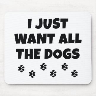 All The Dogs Mouse Pad