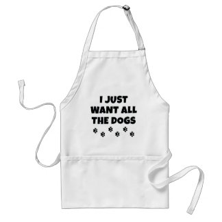 All The Dogs Standard Apron