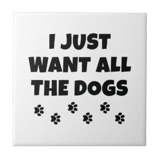 All The Dogs Tile