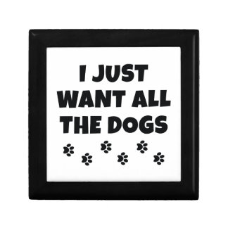 All The Dogs Trinket Box