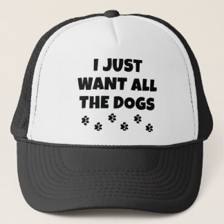 All The Dogs Trucker Hat