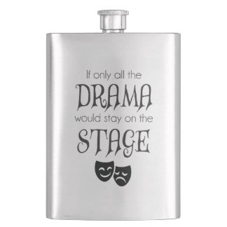 All The Drama Flask