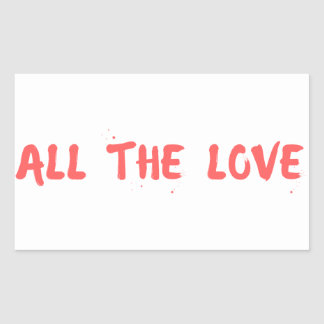"""All the Love"" - Harry Styles Sticker"