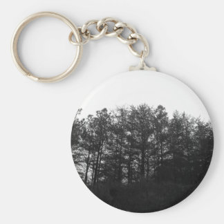 All the Numbness of a Perpetual Winter Basic Round Button Keychain