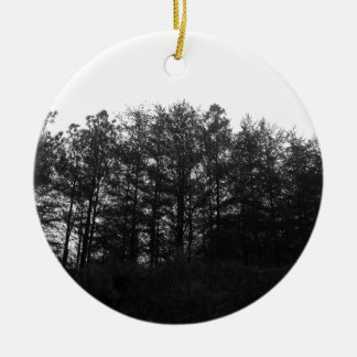 All the Numbness of a Perpetual Winter Ceramic Ornament