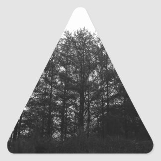 All the Numbness of a Perpetual Winter Triangle Sticker