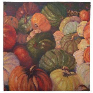 All the Pretty Pumpkins, Half Moon Bay Napkin