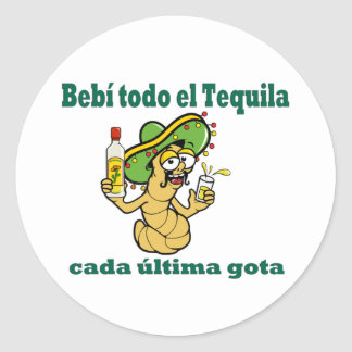 All The Tequila HHM Stickers