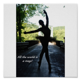 All the world is a stage! poster