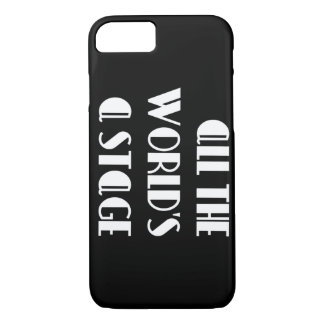All the World's a Stage Case-Mate iPhone Case