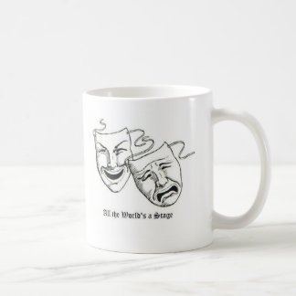 all the worlds a stage coffee mug