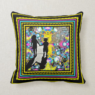 All They Need Is Love Throw Pillow
