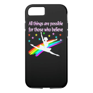 ALL THINGS ARE POSSIBLE DANCER DESIGN iPhone 7 CASE