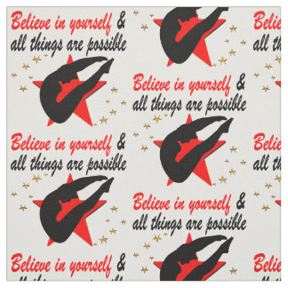 ALL THINGS ARE POSSIBLE FOR THIS DIVER DESIGN FABRIC