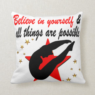 ALL THINGS ARE POSSIBLE FOR THIS DIVER DESIGN THROW PILLOW