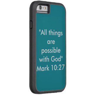 """All Things are Possible"" IPhone 6/6S Phone Case"