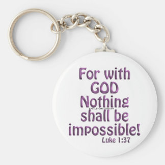 all things are possible keychain