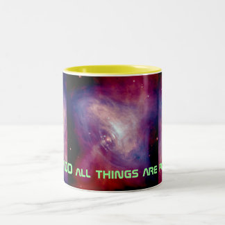 all things are possible mug