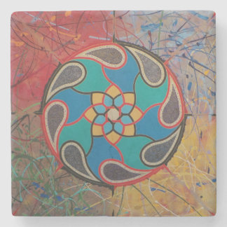 All Things Fall Apart - Marble Stone Coaster