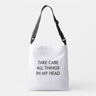 ALL THINGS IN MY HEAD CROSSBODY BAG