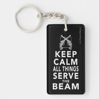 All Things Serve The Beam Keychain