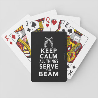 All Things Serve The Beam Poker Deck