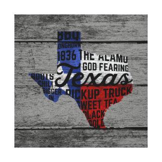 All Things Texas Canvas Print