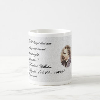 """""""All things that are truly great are at first... Coffee Mug"""